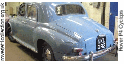 1951 Rover 75 Cyclops in the workshop