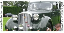 1949 Rover 75 P3 Six Light