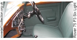 1949 Rover 75 P3 Six Light - Interior