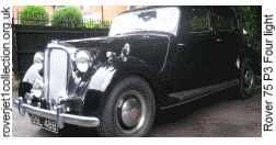 1948 Rover 75 P3 Four light