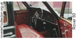 Rover 80 - Interior