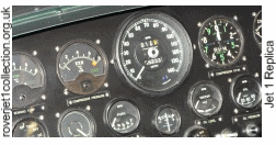 Closeup of the dials