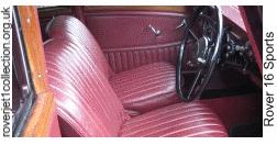 1936 Rover 16 Sports (P2) - Interior