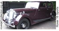 1936 Rover 16 Sports (P2)