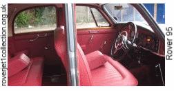 1962 Rover 95 - Interior