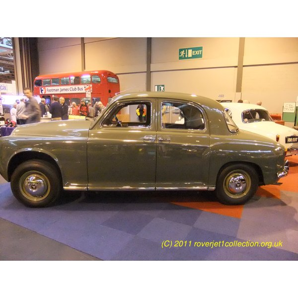 Rover P4 Drivers' Guild stand